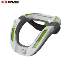 EVS R4K Koroyd Neck Protector Youth (White/Green) Size Youth